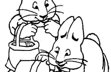 469x304 Max And Ruby Coloring Pages Max Ruby Friend In Max And Ruby