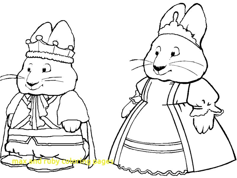 800x601 Max And Ruby Coloring Pages With Max And Ruby Christmas Coloring