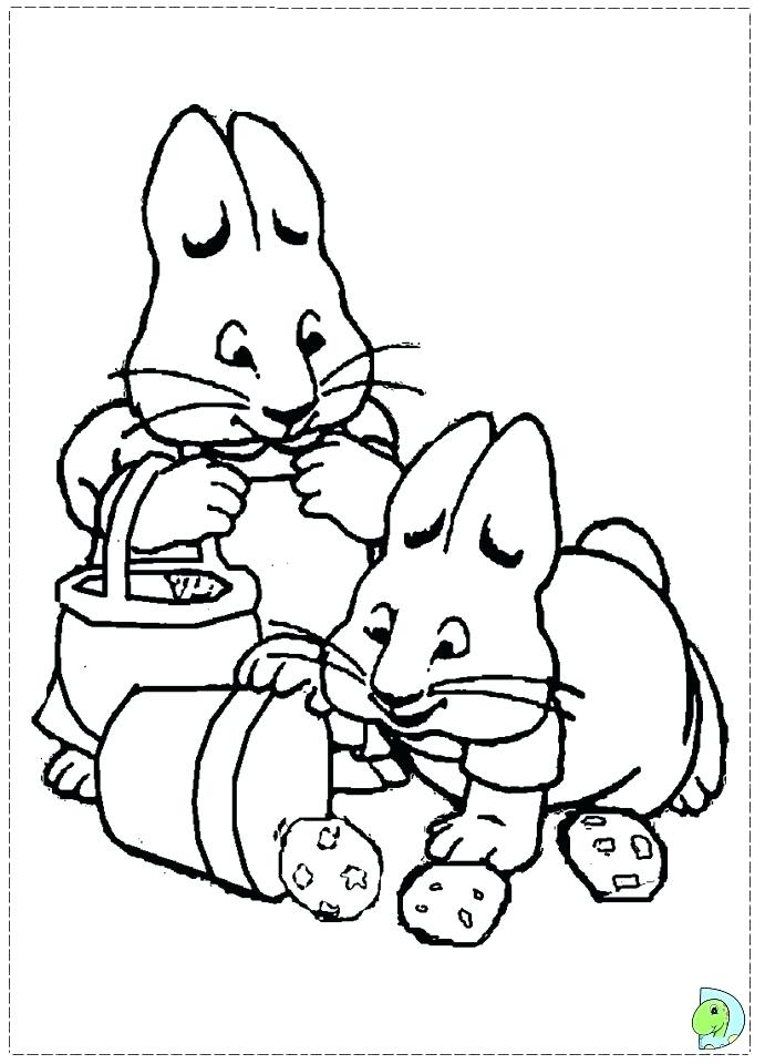 691x960 Ruby Coloring Pages Max And Ruby Coloring Pages To Print Free