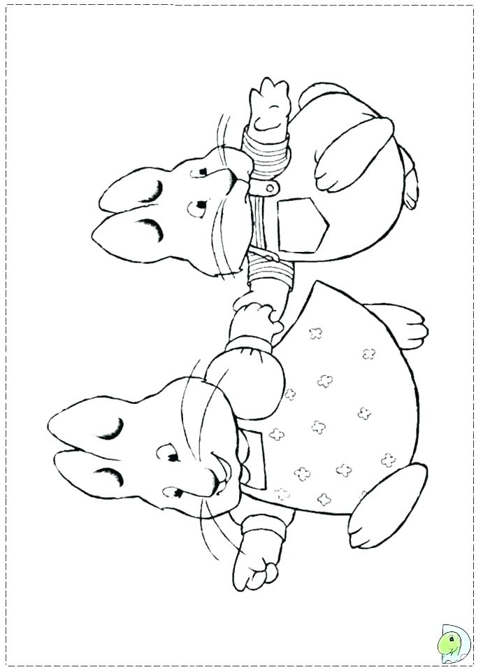 691x960 Ruby Coloring Pages Plant Coloring Pages Max And Ruby Coloring