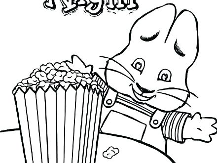 440x330 Ruby Coloring Pages Popcorn Coloring Good Popcorn Coloring Pages