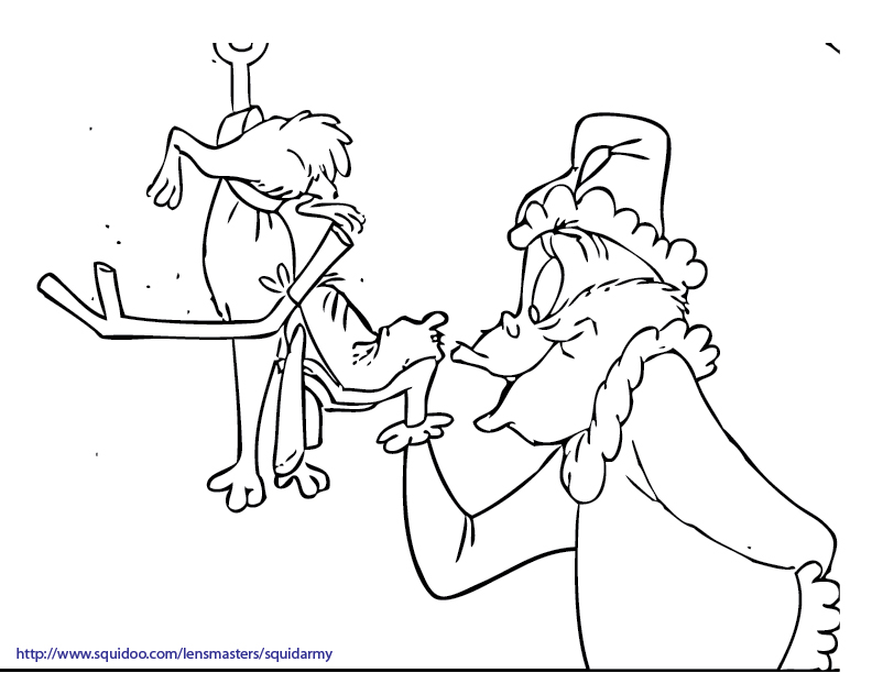 792x612 Grinch Coloring Pages