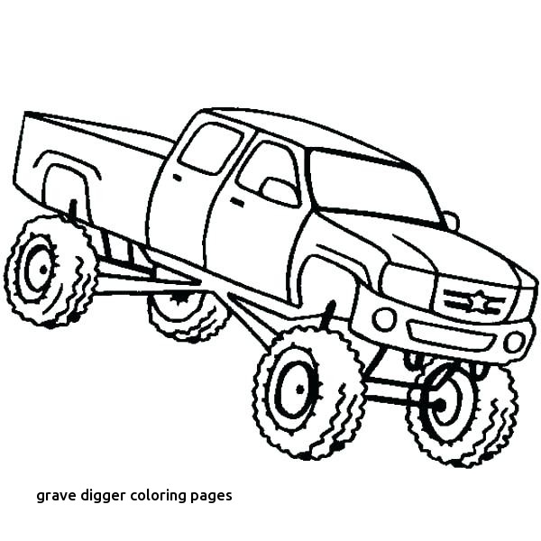 600x600 Max D Monster Truck Coloring Pages To Her With Monster Truck