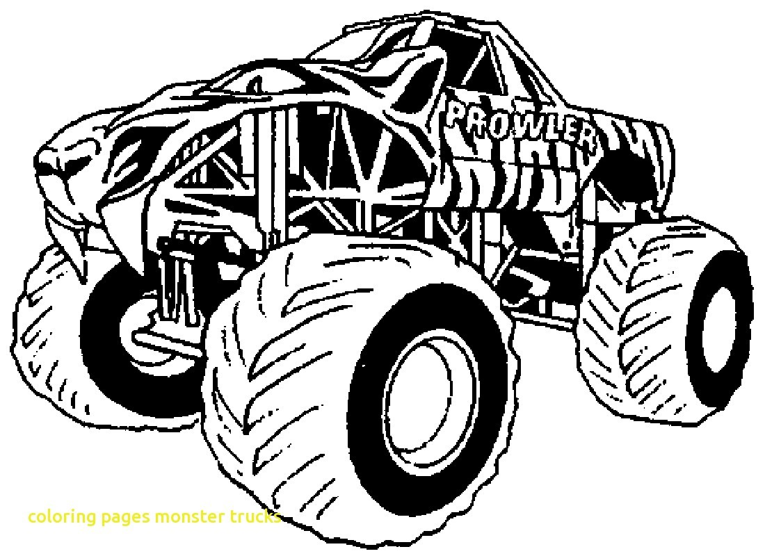 1100x800 Monster Truck Coloring Pages Max D Trucks