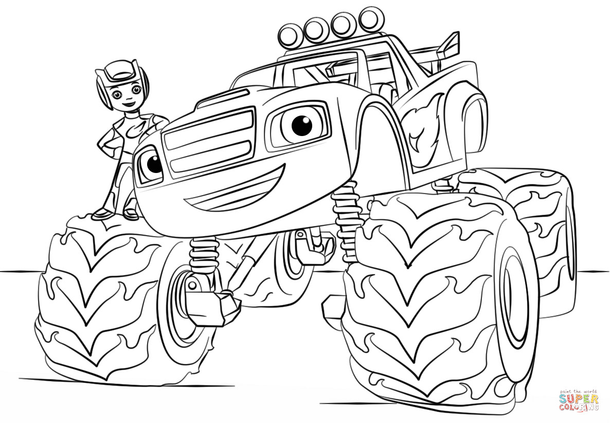 1186x824 Obsession Max D Coloring Pages Introducing Monster Truck Sheet