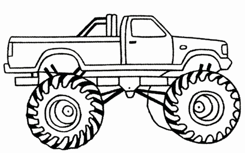 800x500 Max D Monster Truck Coloring Pages And Monster Truck To Hot Wheels