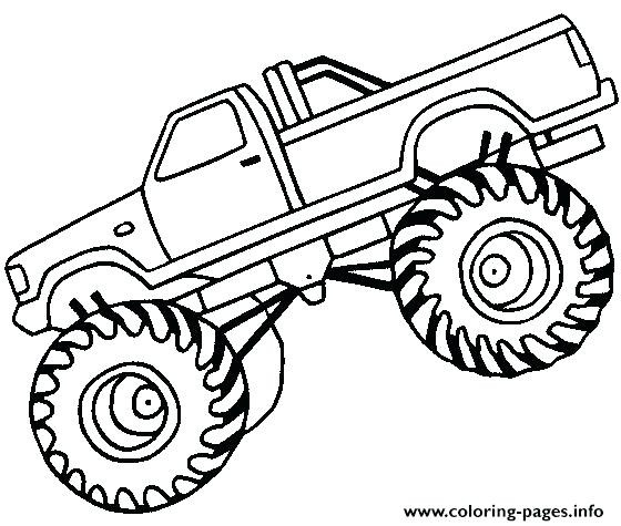 560x475 Monster Truck Coloring Pages Beautiful Max D Monster Truck