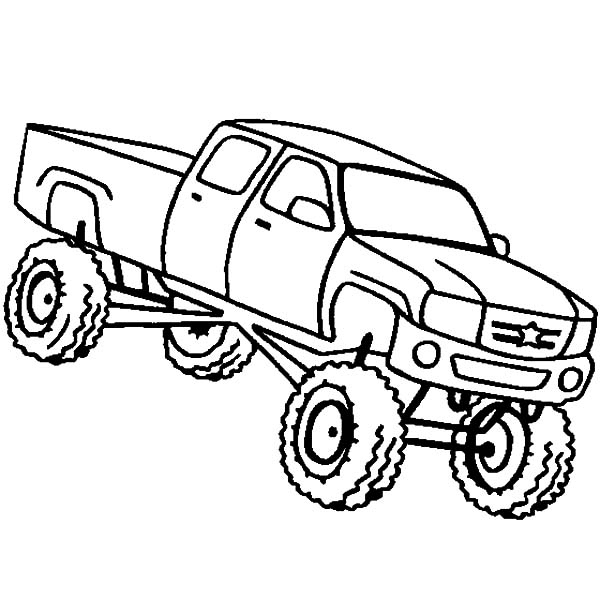 600x600 Monster Truck Coloring Pages Inspirational Monster Truck Coloring