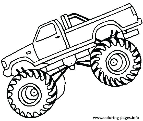 560x475 Grave Digger Coloring Page Grave Digger Coloring Page Monster