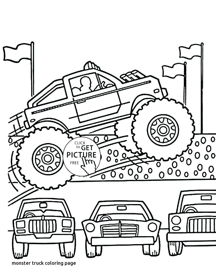 736x944 Jam Coloring Page Monster Truck Coloring Page Monster Truck