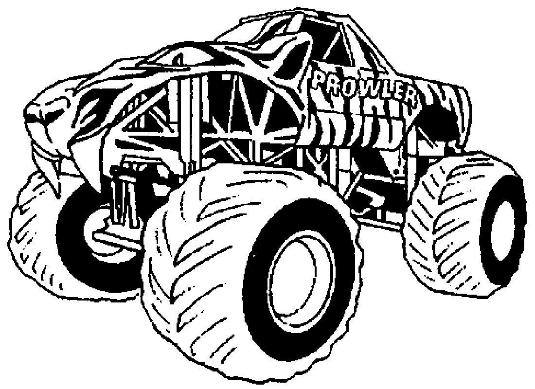 1100x800 Monster Truck Coloring Page Fresh Free Printable Monster Truck