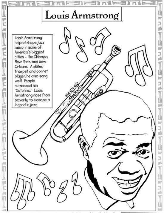 550x713 Every Month Is Black History Month Black History Coloring Pages