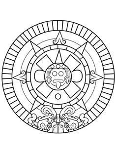 236x316 Mayan Calendar Coloring Page Maya Maya, Social