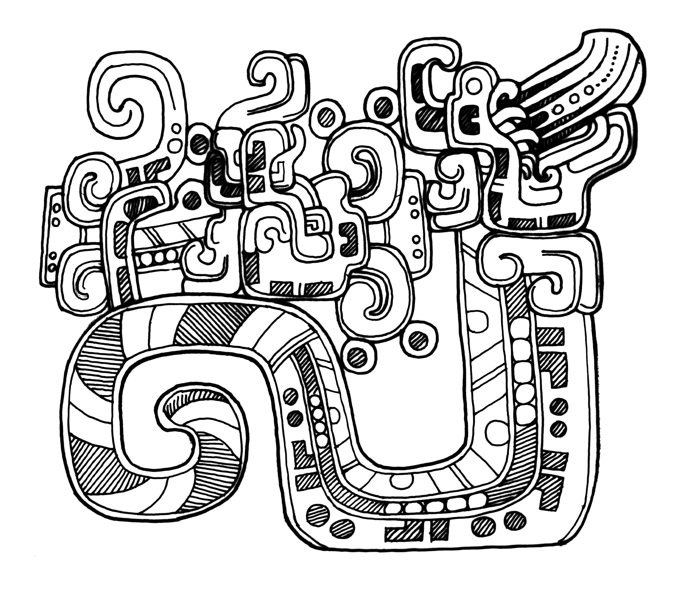 2344x1980 Mayan Coloring Pages Google Search Art Class Bgc Collection
