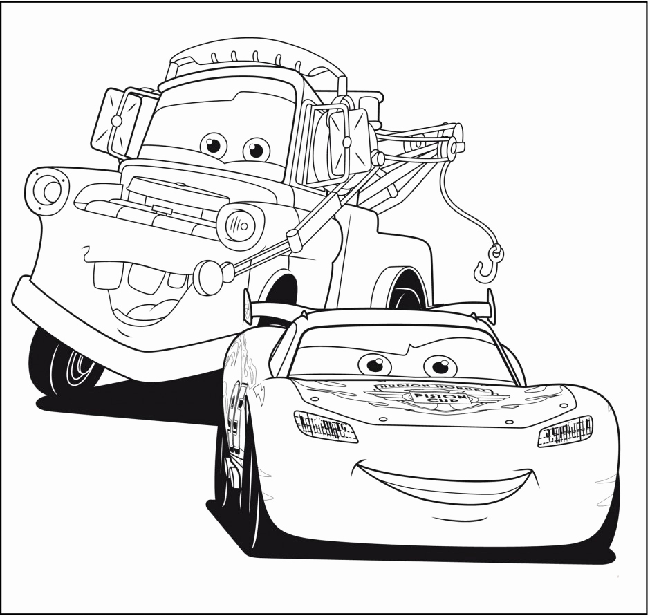 940x891 Free Printable Lightning Mcqueen Coloring Pages For Kids Best Cars