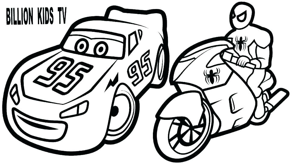 970x546 Lighting Mcqueen Coloring Pages