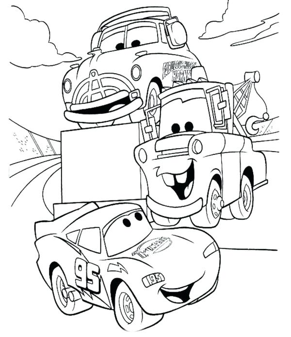 600x696 Lightning Coloring Pages Side View Coloring Page Lightning