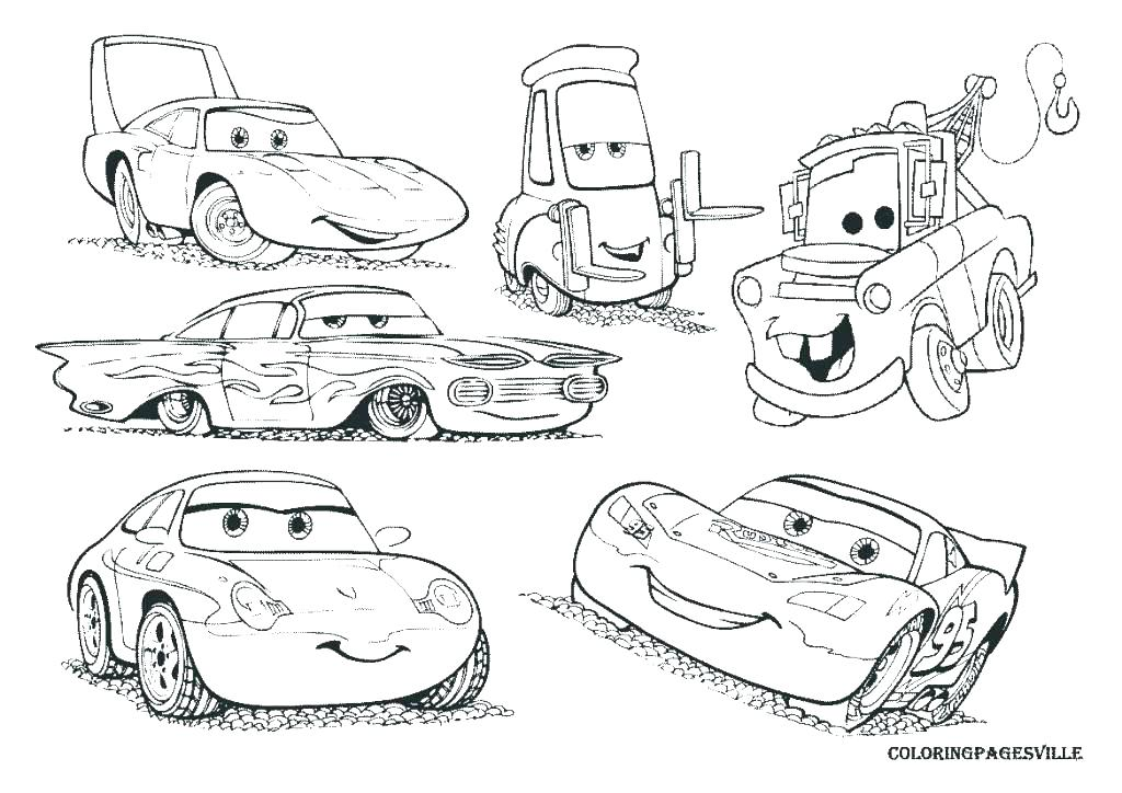 1024x724 Lightning Mcqueen Coloring Page Mater Coloring Pages Stock