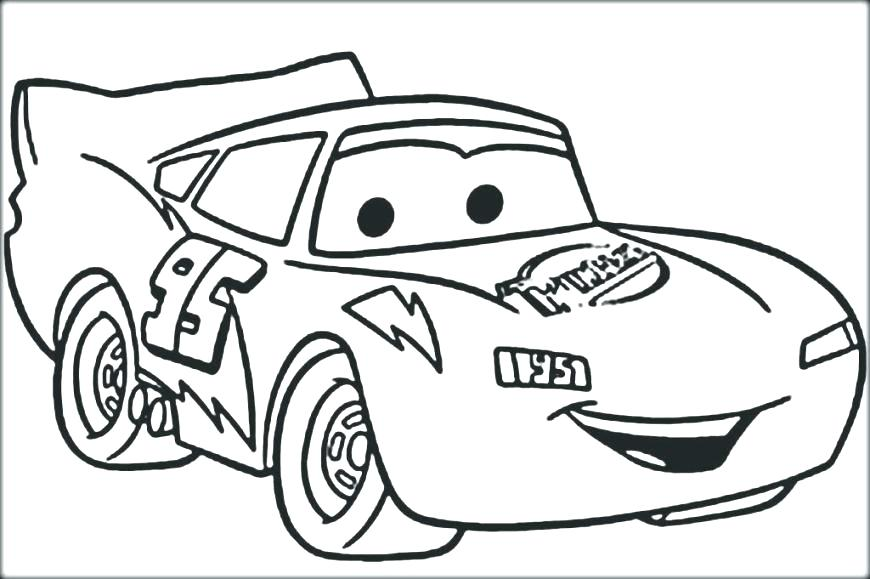 870x579 Mcqueen Coloring Pages Lightening Coloring Page Lightning Coloring