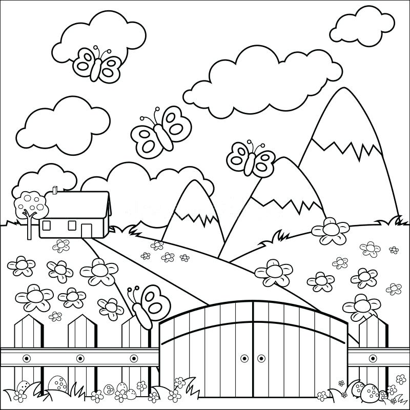 800x800 Gingerbread House Coloring Page Gingerbread House Coloring Page