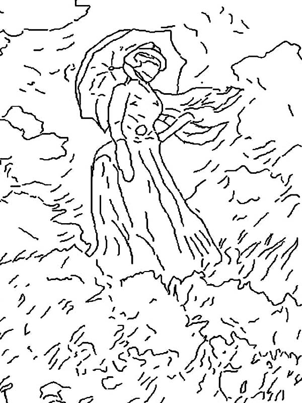 Meadow Coloring Page At Getdrawings Com Free For Personal Use