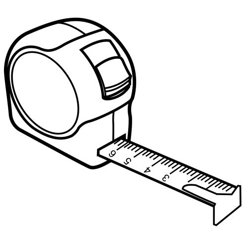 Measuring Tape Coloring Pages