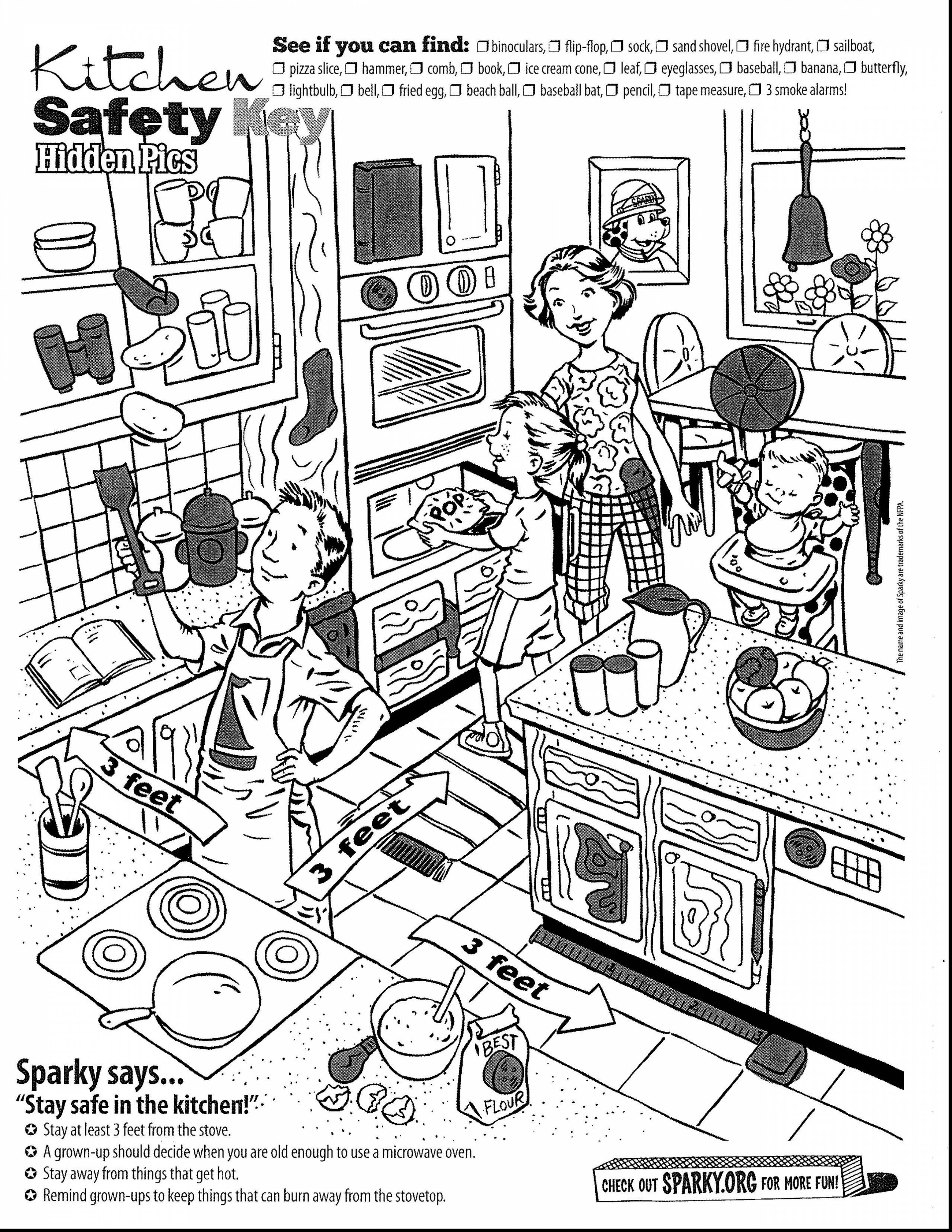 2805x3630 Kids In The Kitchen Coloring Pages For Kids Lovely Spectacular