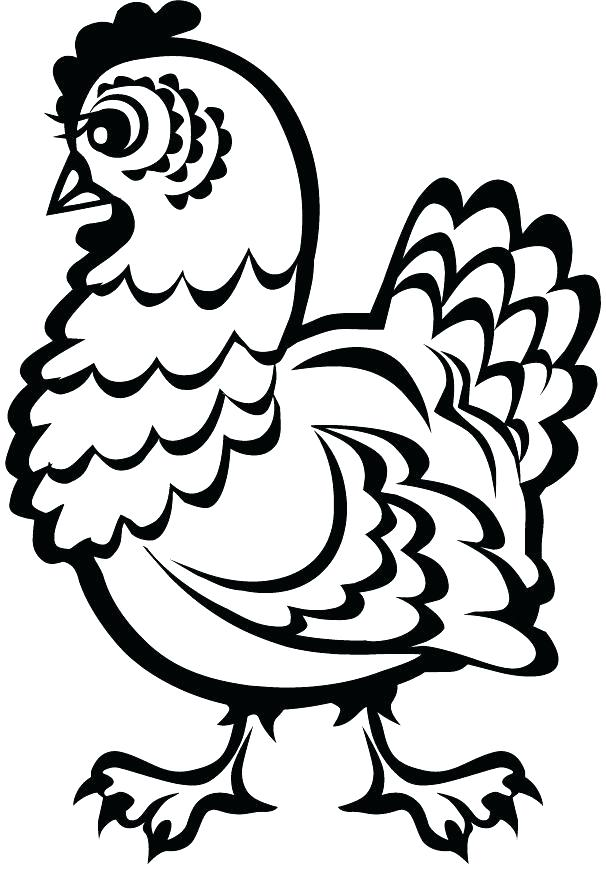 606x870 Meat Coloring Pages Chicken Run Coloring Pages Printable For Point