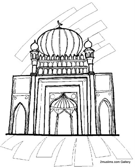 Mecca Coloring Pages