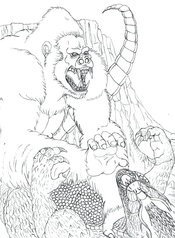 600x817 Godzilla Coloring Pages Coloring Pages Complete Coloring Pages