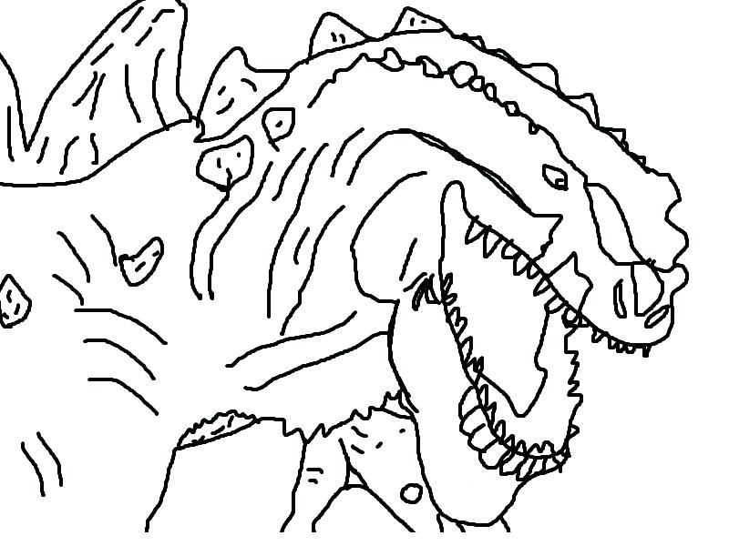 800x600 Godzilla Coloring Pages Coloring Picture Coloring Pages For Kids