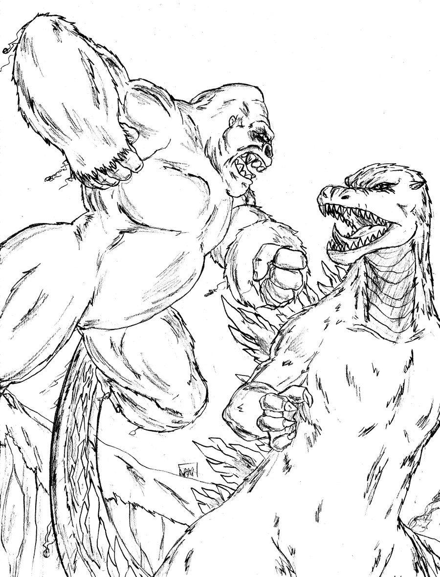 900x1180 Godzilla Vs Mechagodzilla