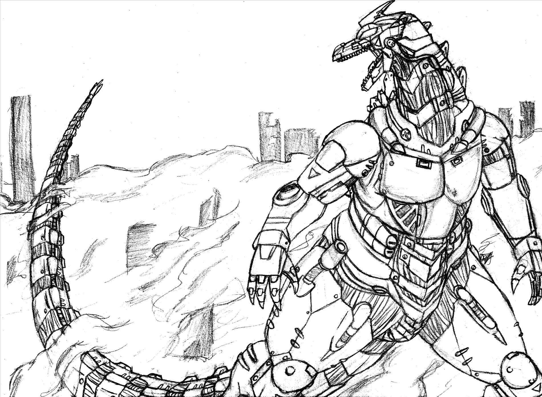 1900x1391 Mechagodzilla Coloring Pages Online Coloring Printable