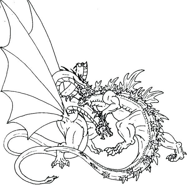 600x600 Mechagodzilla Coloring Pages New The Series Coloring Pages