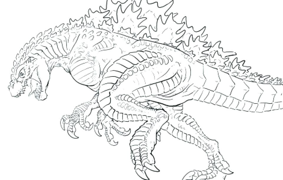 Mechagodzilla Coloring Pages at GetDrawings | Free download