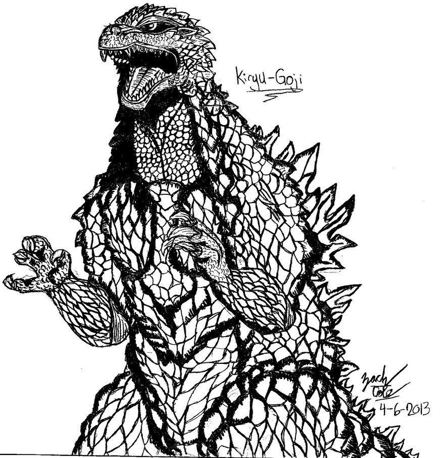 883x905 Godzilla Coloring Pages Mechagodzilla Coloring Pages
