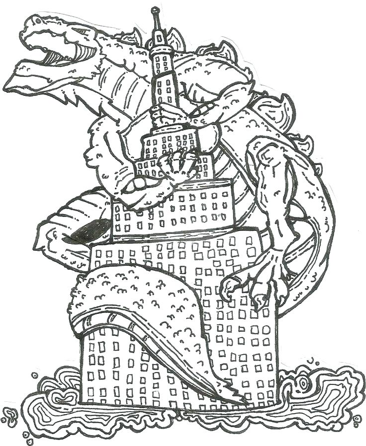 736x898 Godzilla Coloring Page Perfect Coloring Page New Adult Pages