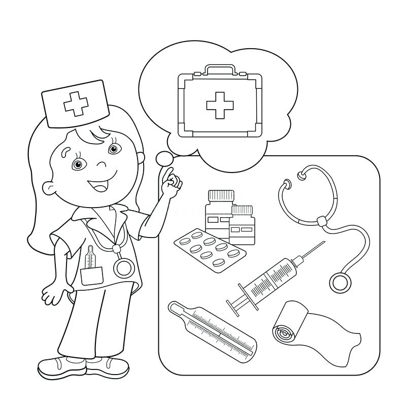 Medicine Coloring Pages at GetDrawings.com | Free for personal use ...