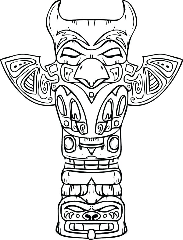 600x788 Native American Color Amazing Sculptures Of Native Totem