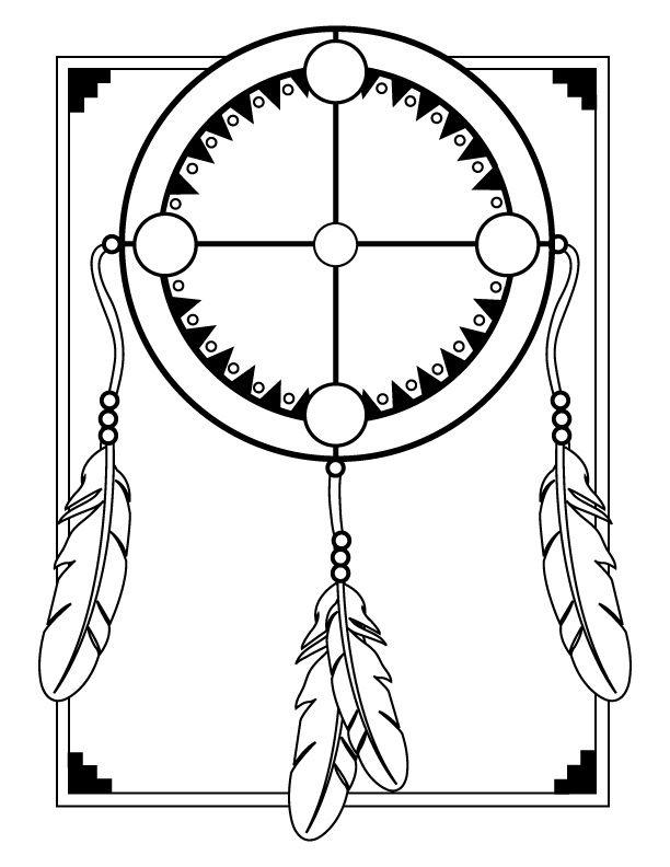 612x792 Medicine Wheel Template Printables Medicine Wheel