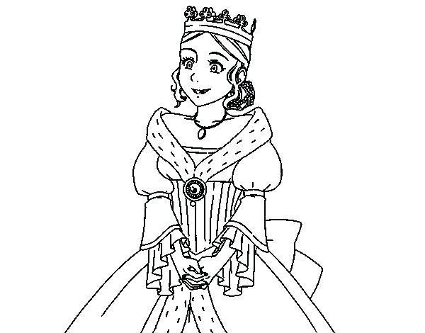 600x470 Medieval Princess Coloring Pages Medieval Coloring Pages
