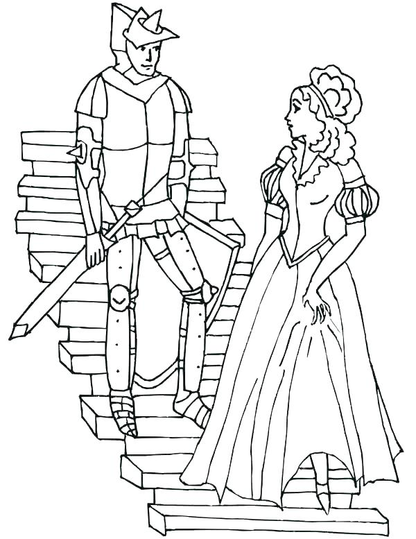 600x777 Medieval Times Coloring Pages Medieval Coloring Pages For Adults