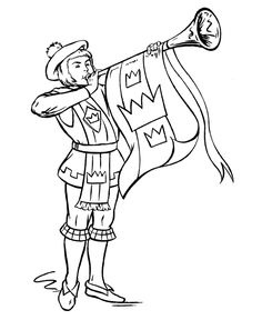236x288 Knight Coloring Pages Medieval Times