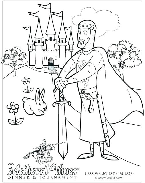 506x640 Middle Ages Coloring Pages