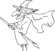 236x218 Witches Colouring Pages Bluebonkers