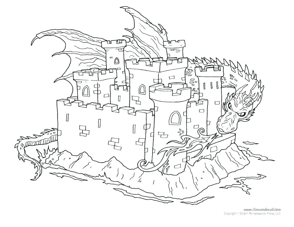 945x730 Medieval Coloring Pages Coloring Pages Of Castles Medieval