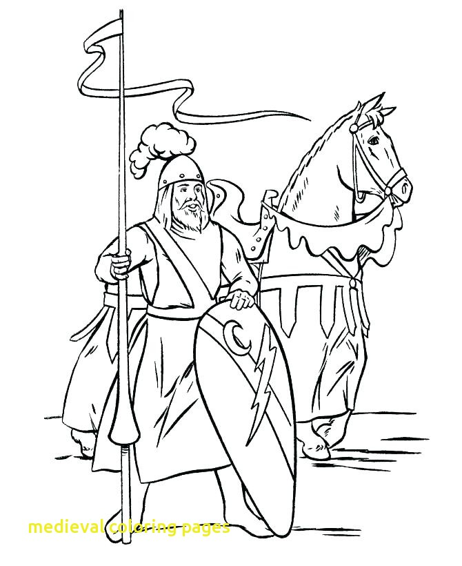 670x820 Medieval Coloring Pages With Coloring Pages Knights Me Val Castle