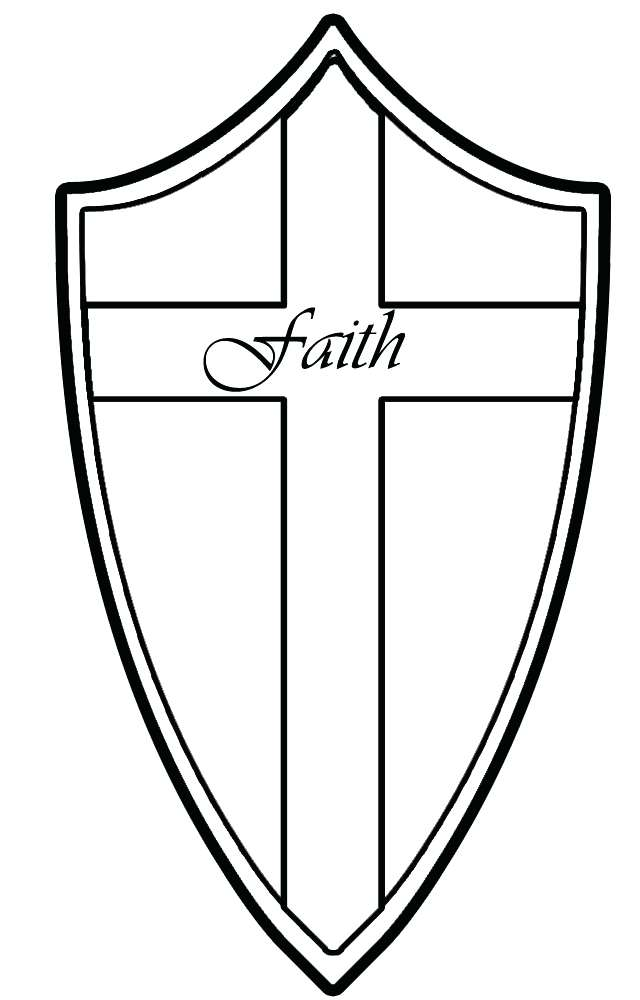 640x1000 Shield Coloring Page Lovely Shield Of Faith Coloring Page