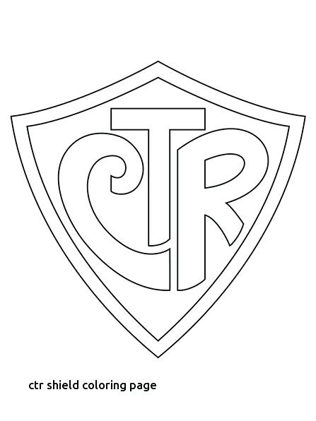 447x596 Shield Coloring Page Primarily Inclined Coloring Pages