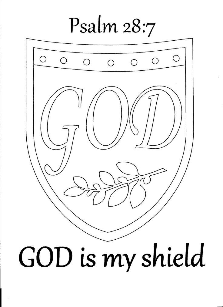 736x1012 Shield Of Faith Coloring Pages